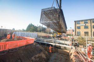 Upper Holloway Temporary Works