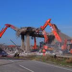 Bridge Demolition A50