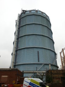 Oxed Gas Holder Demo Surrey