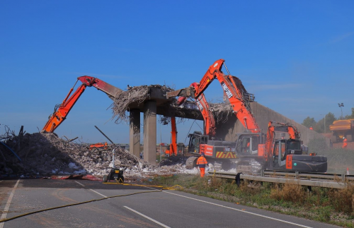 Bridge Demolition A50